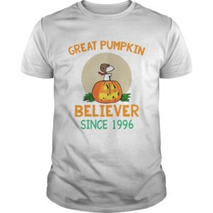 Snoopy Great Pumpkin Believer Since 1996 shirt 300x300 - Snoopy Great Pumpkin Believer Since 1996 shirt, guys tee, ladies tee