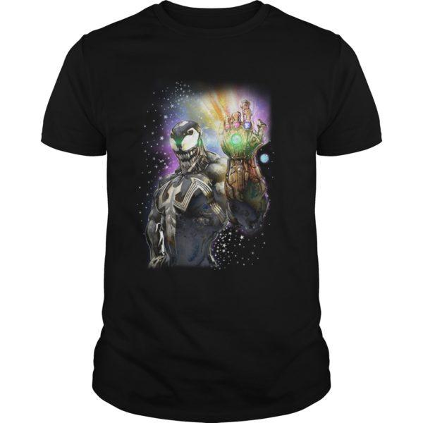 Venom with the Infinity Gauntlet shirt 600x600 - Venom With The Infinity Gauntlet shirt, guys tee, hoodie, LS