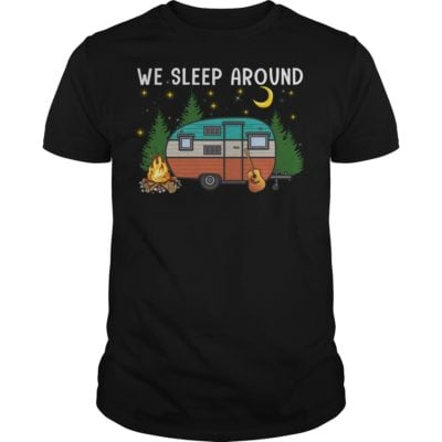 We Sleep Around Shirt 400x400 - We Sleep Around Camping shirt, long sleeve