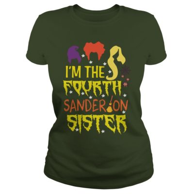 1 5 400x400 - Hocus Pocus I'm The Fourth Sanderson Sister shirt, hoodie, sweater