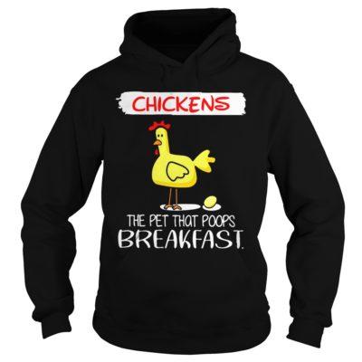 102 400x400 - Chickens The Pet That Poops Breakfast shirt, guys tee, ladies tee