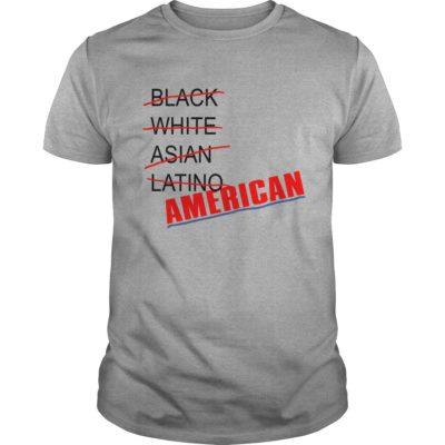 2 23 400x400 - Black White Asian Latino American shirt, guys tee, ladies tee