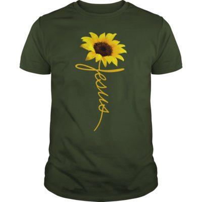 3 6 400x400 - Jesus Sunflowers shirt, guys tee, ladies tee, long sleeve