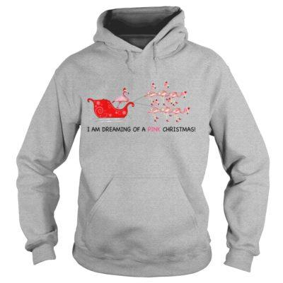 555 4 400x400 - Flamingo I Am Dreaming Of A Pink Christmas shirt, ladies tee, guys tee