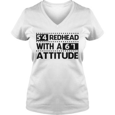 99 8 400x400 - 5'4 Redhead with a 6'1 Attitude shirt, ladies tee, hoodie, tank top