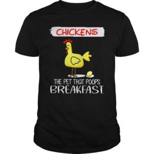 Chickens The Pet That Poops Breakfast shirt 300x300 - Chickens The Pet That Poops Breakfast shirt, guys tee, ladies tee