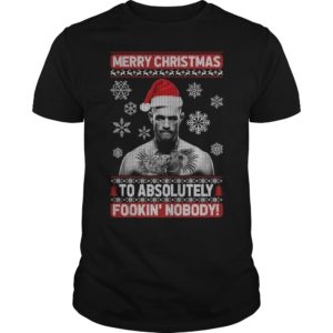 Conor McGregor Merry Christmas To Absolutely shirt 300x300 - Conor McGregor Merry Christmas To Absolutely Fookin' Nobody shirt, sweater