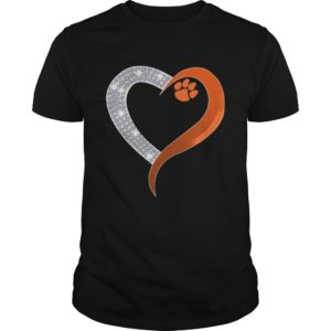 Diamond Heart Clemson Tigers t shirt 300x300 - Diamond Heart Clemson Tigers t-shirt, guys tee, ladies tee