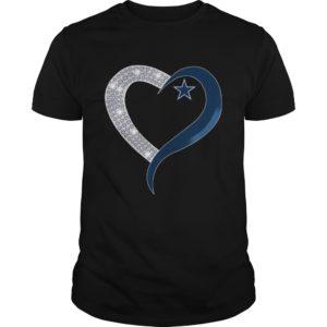 Diamond Heart Dallas Cowboys t shirt 300x300 - Diamond Heart Dallas Cowboys t-shirt, ladies tee, guys tee, tank