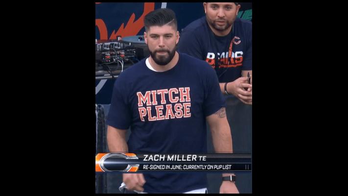 DnVamIqXcAAiZxg 711x400 - Zach Miller Mitch Please shirt, hoodie, long sleeve, sweater
