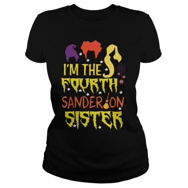 Hocus Pocus Im The Fourth Sanderson Sister shirt 600x600 - Hocus Pocus I'm The Fourth Sanderson Sister shirt, hoodie, sweater