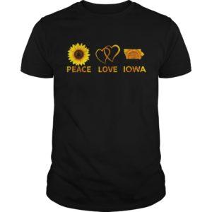 Peace Love And Iowa 300x300 - Sunflower Peace Love And Iowa shirt hoodie, long sleeve