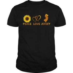 Peace Love And Jersey Shirt 300x300 - Sunflower Peace Love And Jersey shirt