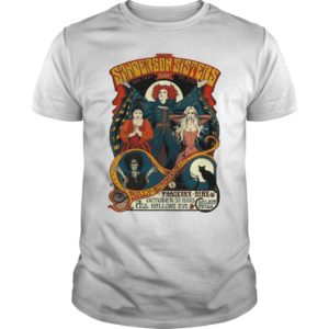 Sisters Shirt 300x300 - Sanderson Sisters Back From Live The Dead Also Billy Butcherson shirt