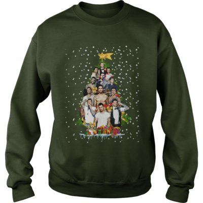 Adam Levine Christmas tree sweater 400x400 - Adam Levine Christmas tree sweatshirt, long sleeve, hoodie, t-shirt