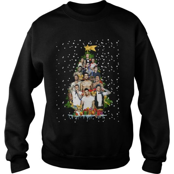 Adam Levine Christmas tree sweatshirt 600x600 - Adam Levine Christmas tree sweatshirt, long sleeve, hoodie, t-shirt