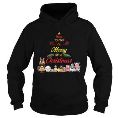 Animals Have yourself a merry little Christmas hoodie 400x400 - Animals Have yourself a merry little Christmas sweatshirt, long sleeve
