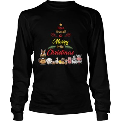 Animals Have yourself a merry little Christmas long sleeve 400x400 - Animals Have yourself a merry little Christmas sweatshirt, long sleeve