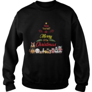 Animals Have yourself a merry little Christmas sweatshirt 300x300 - Animals Have yourself a merry little Christmas sweatshirt, long sleeve