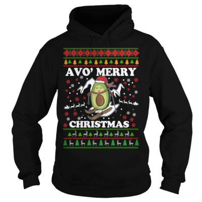 Avocado Avo Merry Christmas hoodie 400x400 - Avocado Avo' Merry Christmas sweatshirt, long sleeve, hoodie, t-shirt