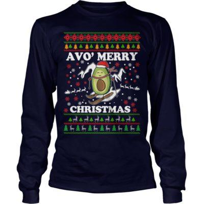 Avocado Avo Merry Christmas long sleeve 400x400 - Avocado Avo' Merry Christmas sweatshirt, long sleeve, hoodie, t-shirt