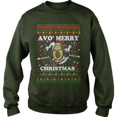 Avocado Avo Merry Christmas sweater 400x400 - Avocado Avo' Merry Christmas sweatshirt, long sleeve, hoodie, t-shirt