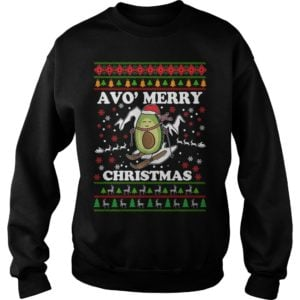 Avocado Avo Merry Christmas sweatshirt 300x300 - Avocado Avo' Merry Christmas sweatshirt, long sleeve, hoodie, t-shirt