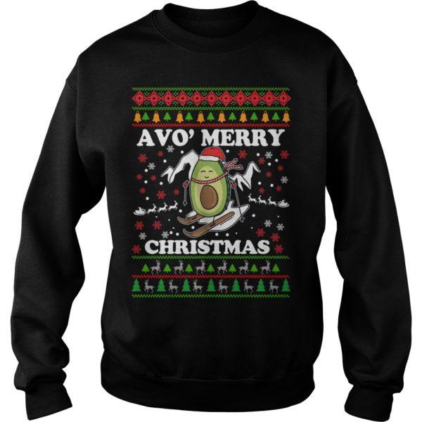 Avocado Avo Merry Christmas sweatshirt 600x600 - Avocado Avo' Merry Christmas sweatshirt, long sleeve, hoodie, t-shirt