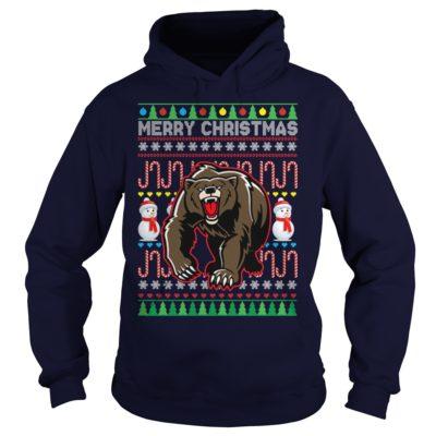 Bear Merry Christmas hoodie 400x400 - Bear Merry Christmas sweatshirt, hoodie, long sleeve