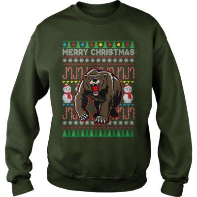 Bear Merry Christmas sweater 400x400 - Bear Merry Christmas sweatshirt, hoodie, long sleeve