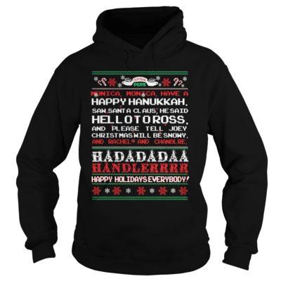 Central perk Monica Monica have a happy Hanukkah Christmas hoodie 400x400 - Central perk Monica Monica have a happy Hanukkah Christmas sweatshirt, hoodie