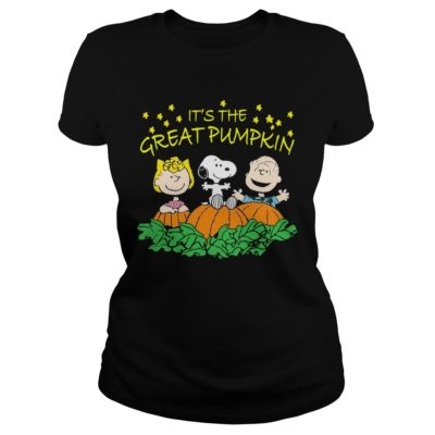 Charlie Brown Its the Great Pumpkin ladies tee 400x400 - Charlie Brown It's the Great Pumpkin shirt, hoodie, long sleeve