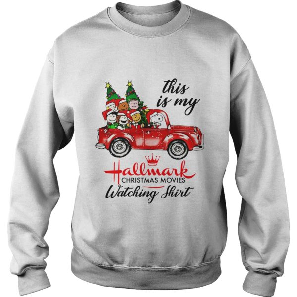 Charlie Brown Snoopy Hallmark Christmas movie sweatshirt 600x600 - Charlie Brown Snoopy Hallmark Christmas movie sweatshirt, long sleeve