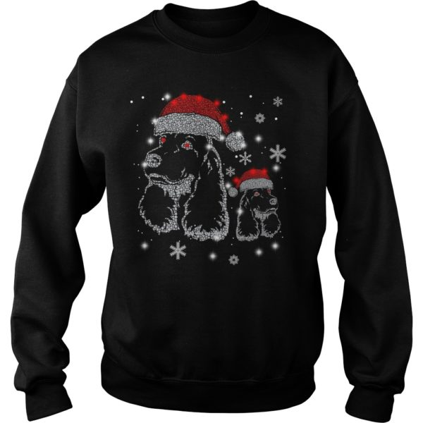 Cocker Spaniel Hat Diamond Christmas sweater 600x600 - Cocker Spaniel Hat Diamond Christmas sweater, long sleeve, hoodie