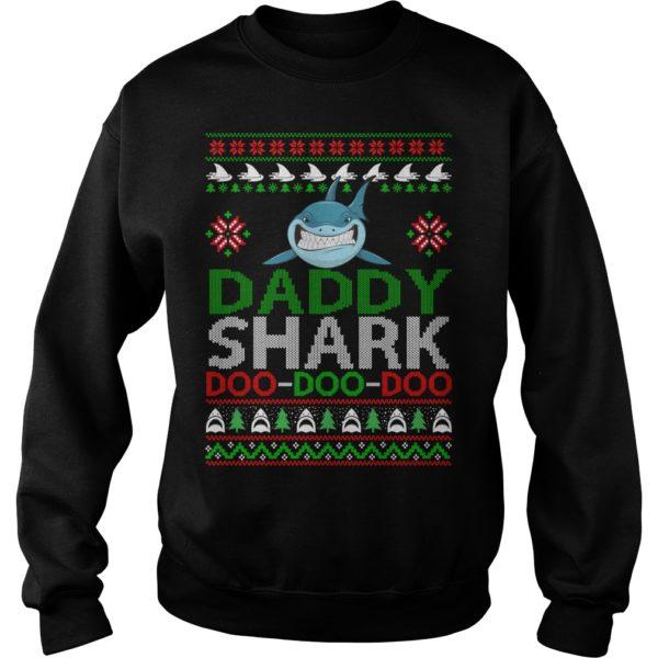Daddy Shark Doo Doo Doo Christmas sweatshirt 600x600 - Daddy Shark Doo Doo Doo Christmas sweatshirt, hoodie, long sleeve