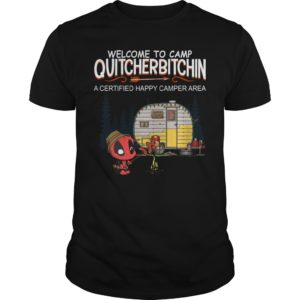 Deadpool Welcome to camp Quitcherbitchin t shirt 300x300 - Deadpool Welcome to camp Quitcherbitchin shirt, hoodie, sweater