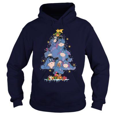 Eeyore Christmas tree hoodie 400x400 - Eeyore Christmas tree sweatshirt, hoodie, t-shirt, long sleeve