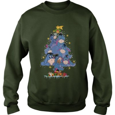 Eeyore Christmas tree sweater 400x400 - Eeyore Christmas tree sweatshirt, hoodie, t-shirt, long sleeve