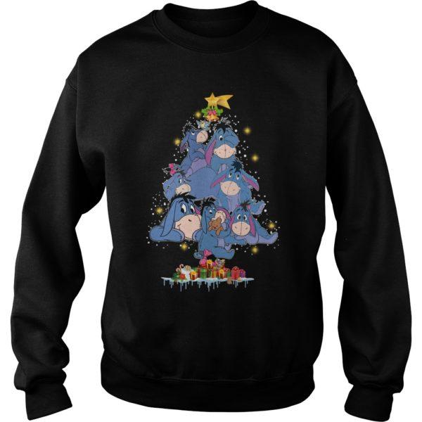 Eeyore Christmas tree sweatshirt 600x600 - Eeyore Christmas tree sweatshirt, hoodie, t-shirt, long sleeve