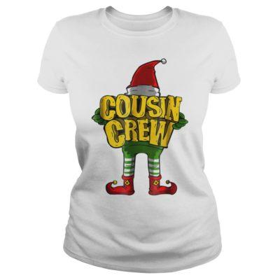 Elf Cousin crew ladies tee 400x400 - Elf Cousin crew sweater, long sleeve, t-shirt, hoodie