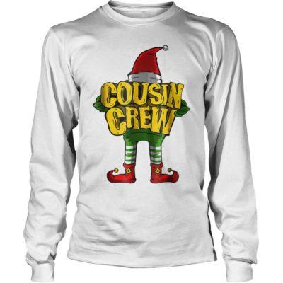 Elf Cousin crew long sleeve 400x400 - Elf Cousin crew sweater, long sleeve, t-shirt, hoodie