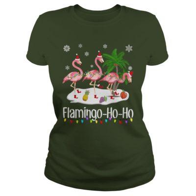 Flamingo Ho Ho ladies tee 400x400 - Flamingo Ho Ho shirt, hoodie, sweater, long sleeve