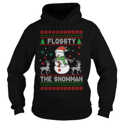 Flossy the Snowman Christmas hoodie 400x400 - Flossty the Snowman Christmas sweatshirt, t-shirt, hoodie
