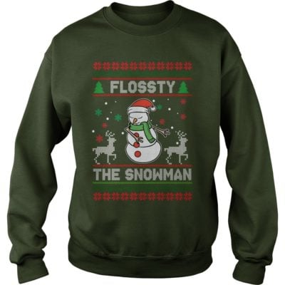 Flossy the Snowman Christmas sweater 400x400 - Flossty the Snowman Christmas sweatshirt, t-shirt, hoodie