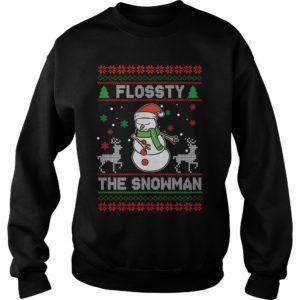 Flossy the Snowman Christmas sweatshirt 300x300 - Flossty the Snowman Christmas sweatshirt, t-shirt, hoodie
