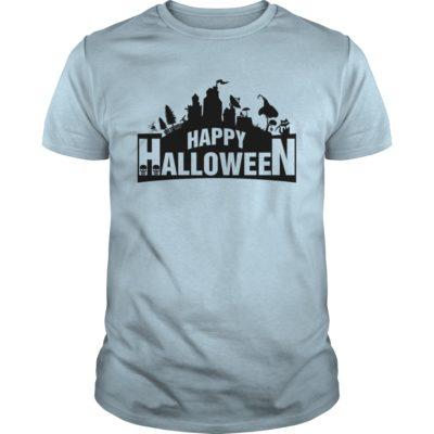 Fortnite Happy Halloween guys tee 400x400 - Fortnite Happy Halloween shirt, guys tee, ladies tee, long sleeve