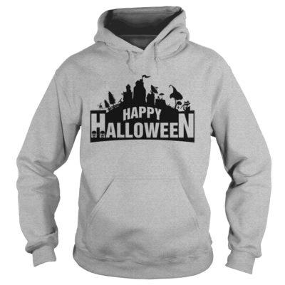 Fortnite Happy Halloween hoodie 400x400 - Fortnite Happy Halloween shirt, guys tee, ladies tee, long sleeve