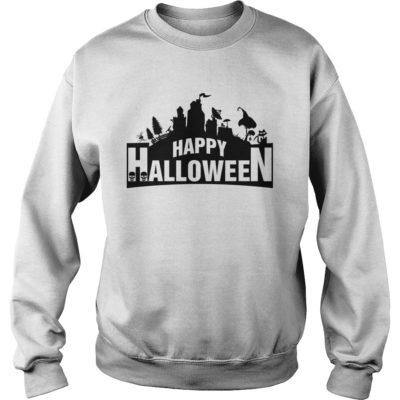 Fortnite Happy Halloween sweater 400x400 - Fortnite Happy Halloween shirt, guys tee, ladies tee, long sleeve