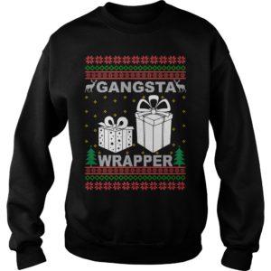 Gangsta Wrapper Christmas sweater 300x300 - Gangsta Wrapper Christmas sweater, long sleeve, hoodie, t-shirt