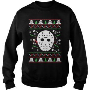 Jason Voorhees Christmas sweater 300x300 - Jason Voorhees Christmas sweater, long sleeve, t-shirt